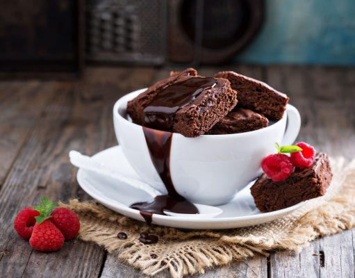 Chocolate in Bowl