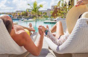Couple in Resort
