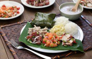 Hawaiian Traditional Plate