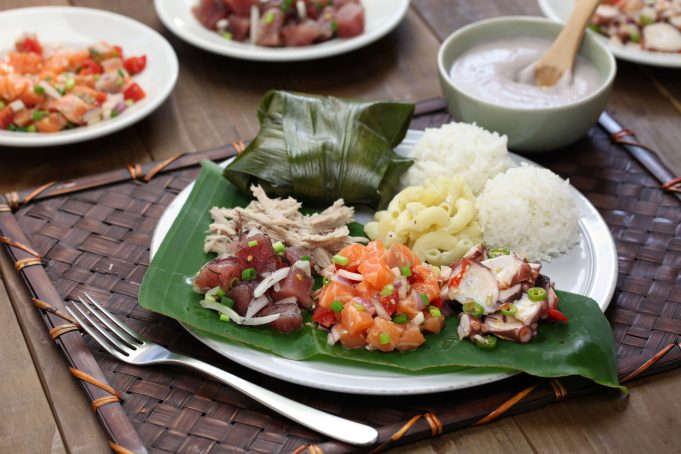 Hawaiian Traditional Plate