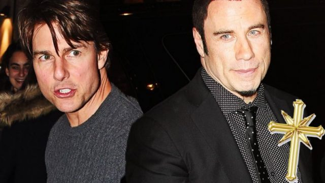 John Travolta And Tom Cruise