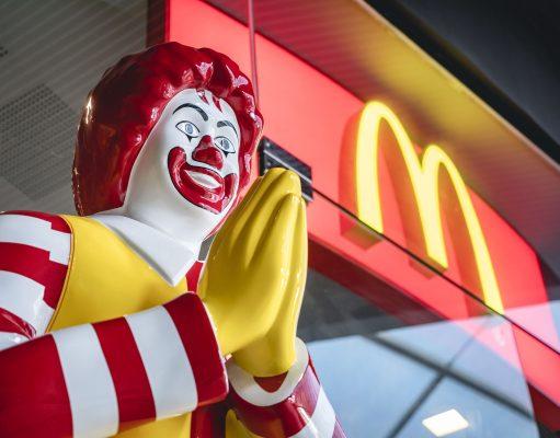 Mc Donald Mascot