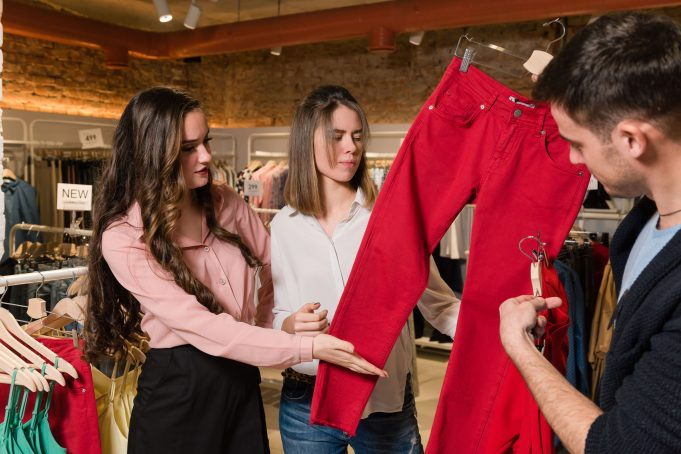 Men Choosing Dress