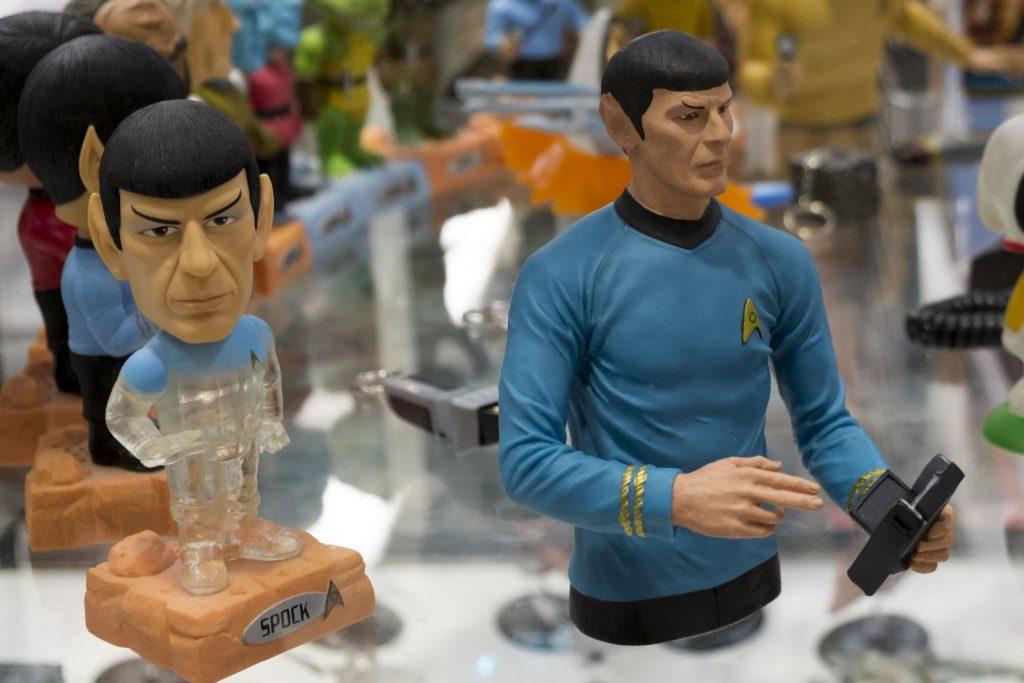 Mr spock toy figure