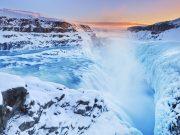 The Gullfoss Falls