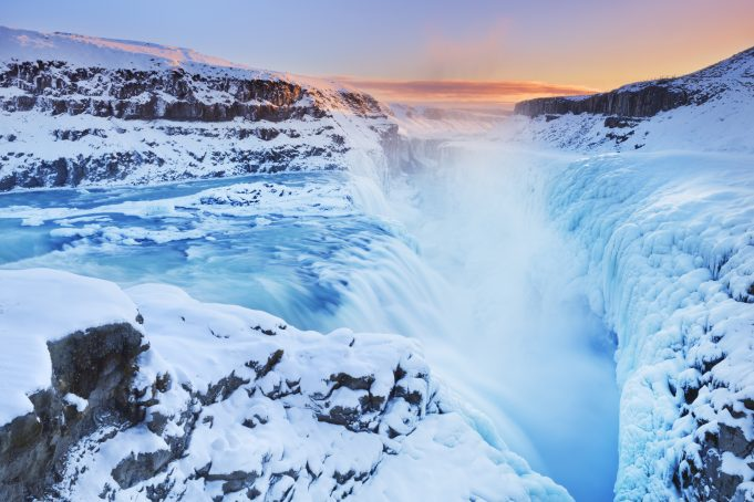 The Gullfoss Falls