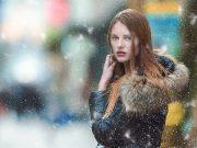 Women in winter season